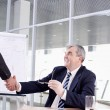 Royalty-Free Stock Photo: Handshake of boss