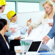 Architects working — Stock Photo