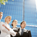 partnerów biznesowych — Zdjęcie stockowe