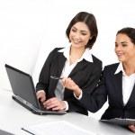 Female colleagues — Stock Photo
