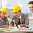 Working architect — Stock Photo