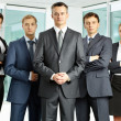 Serious businessteam — Stock Photo