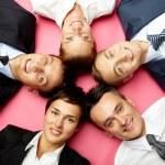 Confident team — Stock Photo