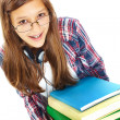 Cute student — Stock Photo