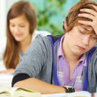 Students in library — Stock Photo #11632954