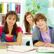 Students at college — Stock Photo