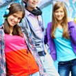 Friendly teens — Stock Photo #11632965