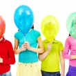 Children with balloons - Foto de Stock  