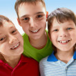 Three boys - Stock Photo