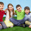 Stock Photo: Group of children