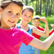Strong children — Stock Photo