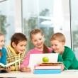 Royalty-Free Stock Photo: Classmates in school