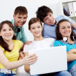 Stock Photo: Group of teens