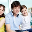 Smart teens — Stock Photo