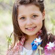 Pretty kid - Stock Photo