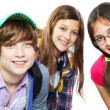 Group of teens - Stock Photo
