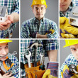 Stock Photo: Manual worker