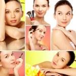 Spa e maquiagem — Foto Stock