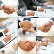 Hands of businesspeople — Stock Photo