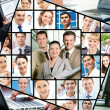 Different businesspeople — Stock Photo