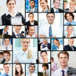 Stock Photo: Different businesspeople