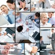 Business collage — Stock Photo #11634000