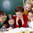 Reading lesson — Stock Photo #11634390