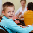 Stock Photo: Youthful pupil