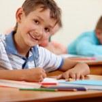 Обучение в школе — Стоковое фото
