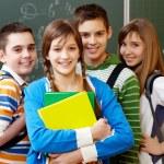 Smart students — Stock Photo #11634633