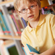 Boy with book — Foto de Stock