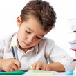Diligent pupil — Stock Photo #11634760