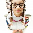 Stock Photo: Girl in eyeglasses