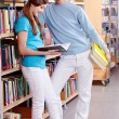Stock Photo: In library