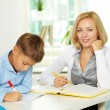 Working at lesson - Stock Photo