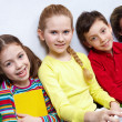 Several pupils — Stock Photo