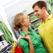 Couple in shop — Stock Photo #11635010