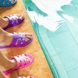 Royalty-Free Stock Photo: Feet in flipflops