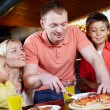 In pizzeria — Stock Photo #11635085