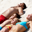 Sunbathing — Stock Photo