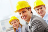 Confident architect — Stock Photo