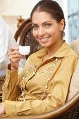 Bonita mulher de negócios — Fotografia Stock