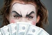 金融邪恶 — 图库照片