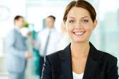 Businesswoman — Stock Photo