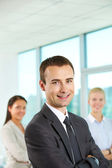 Male leader — Stock Photo