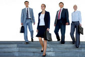 Business leaders — Stock Photo
