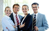 Group of associates — Stock Photo