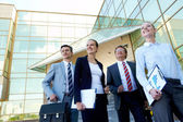 Confident businesspeople — Stock Photo