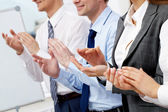 Clapping hands — Stock Photo