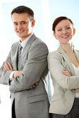 úspěšné partnery — Stock fotografie